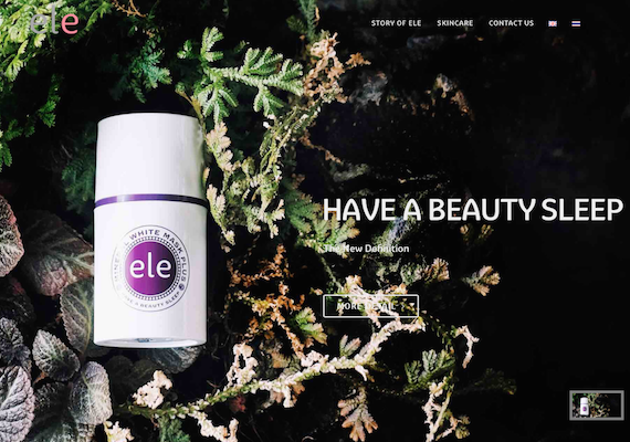 ele (Thailand) responsive website which contains ele's products detail and company information.