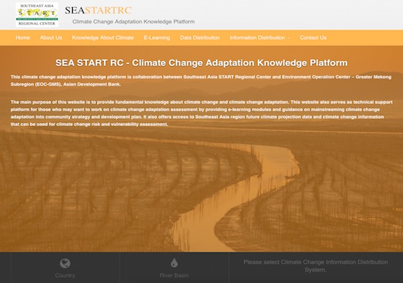 The website is able to query and consolidate a massive data set and plot graphs to see trend and behaviour of climate change in SEA. Users can select parameters to apply to the display of graphs and able to see trend by Rival Basins, Countries in 10 and 30 years period.