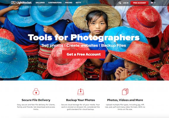 LightRocket is a platform for professional photographers where it allows end-users to browse through all photo and even purchase photo from photographers. Also, it allows photographers to upload and manage his/her photo in the platform to allow others to see and purchase.