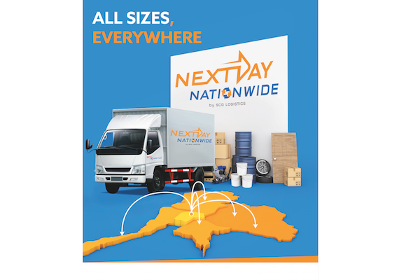 "Print Ads design for a brand new service of SCG Logistics called ""NextDay""."